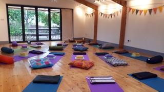 Angi Ward Pilates Retreat at Hungerhill Yurts