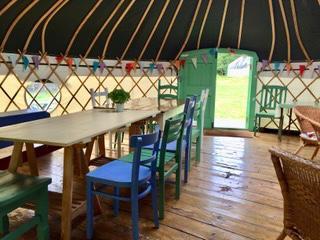 Angi Ward Pilates Retreat at Hungerhill Yurts